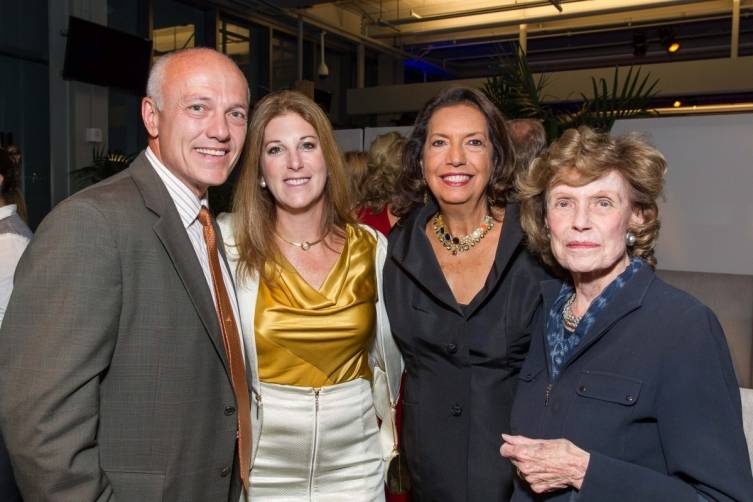 Ralph Schmitt, Sara Schmitt, Concepcion Federman and Cathie Johnson