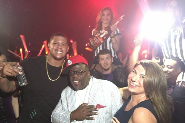 Roger Saffold_Cedric the Entertainer at Marquee