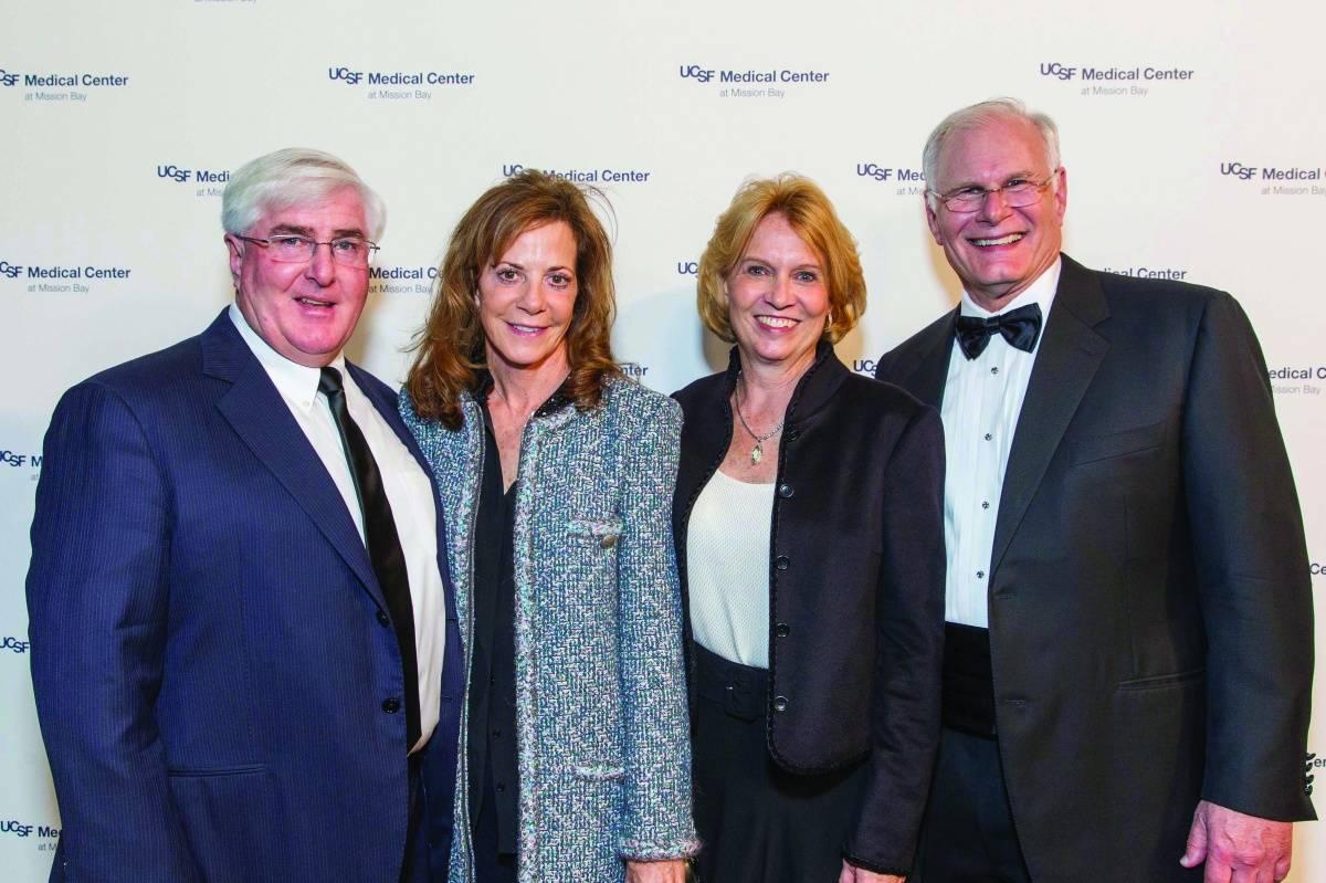 Ron Conway, Gayle Conway, Jane Laret and Mark Laret