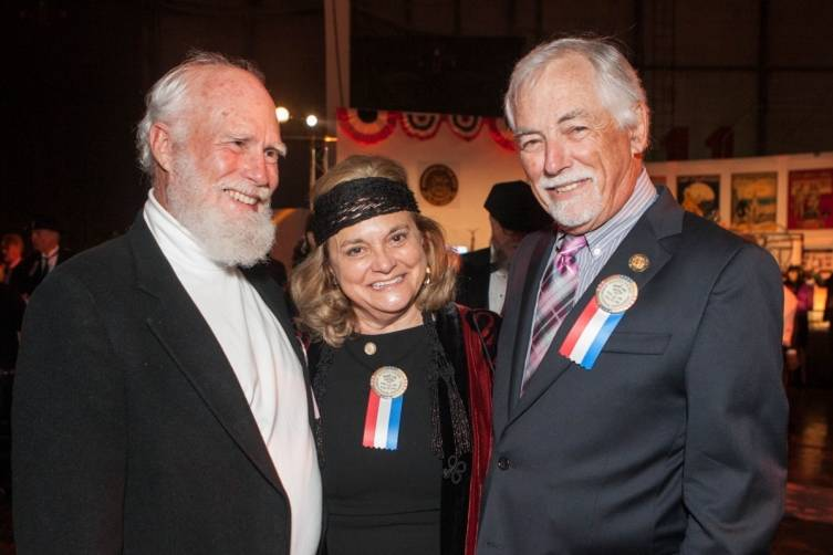 Scott Finney, Susan Frank and Mark Buell
