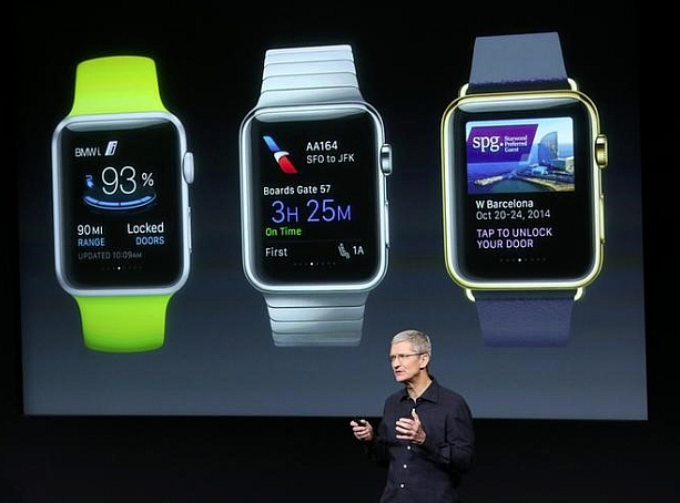 Tim Cook Discusses Apple Watch
