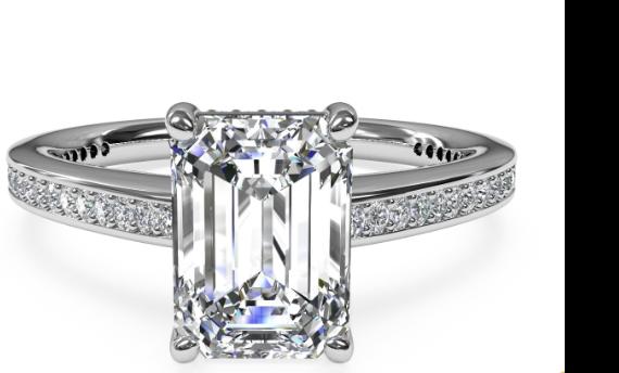 Ritani's Diamond Engagement Ring