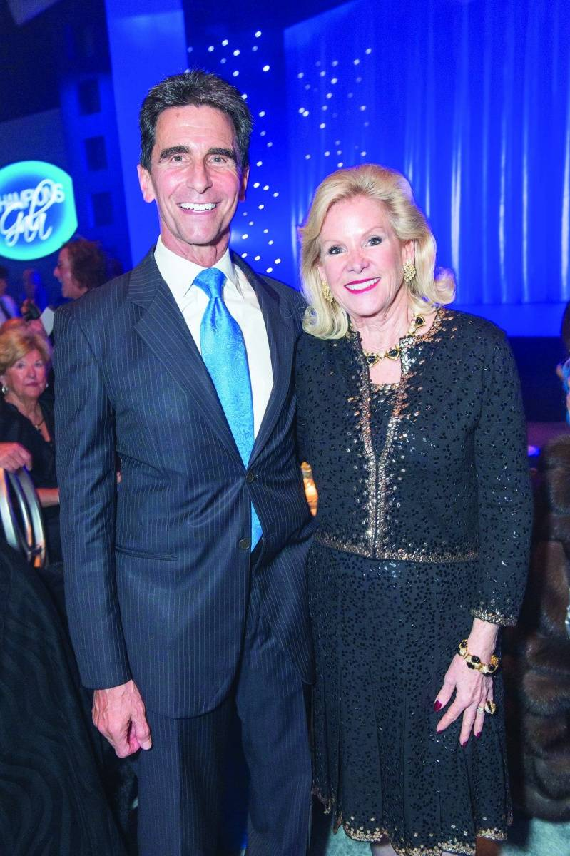 Sen. Mark Leno and Dede Wilsey