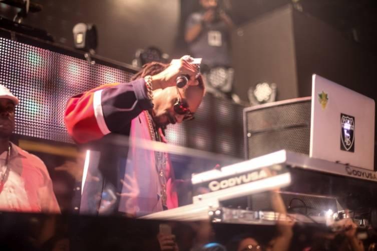 Snoop DJs at TAO 3.28.15