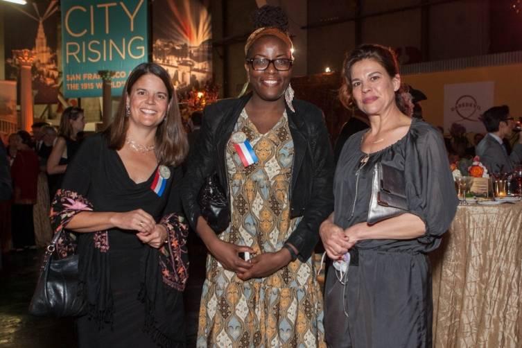 Stephanie Linder, Jackie Omotalade and Nicole Krassner
