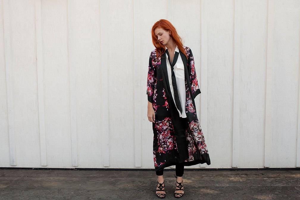 Steview Howell Silk Kimono