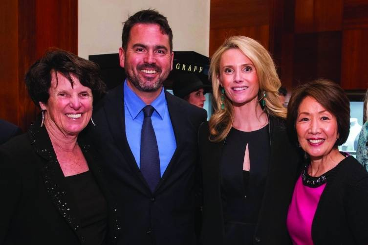 Susie McCormick, Nathan Ballard, Jennifer Siebel Newsom, Jan Yanehiro and Maureen Pelton