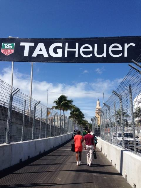 TAG Heuer E-Prix Race Paddock Entrance