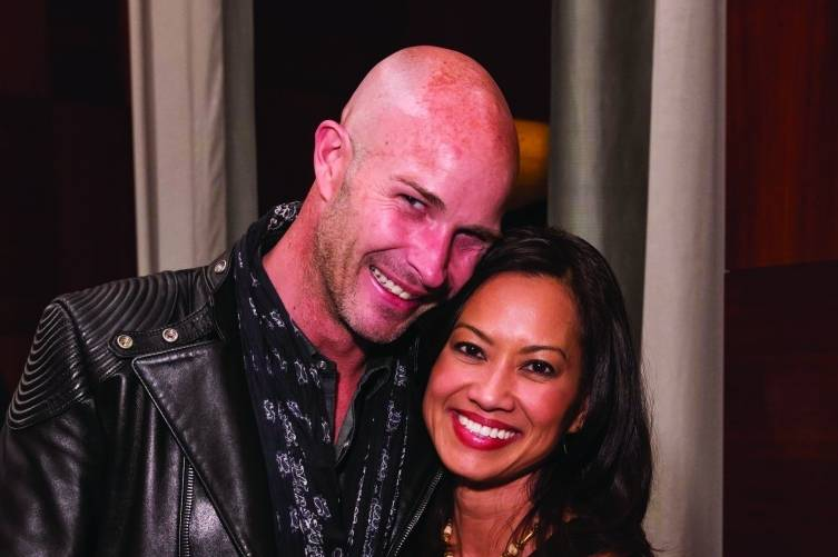 Tobias Kinnebrew and Thuy Vu