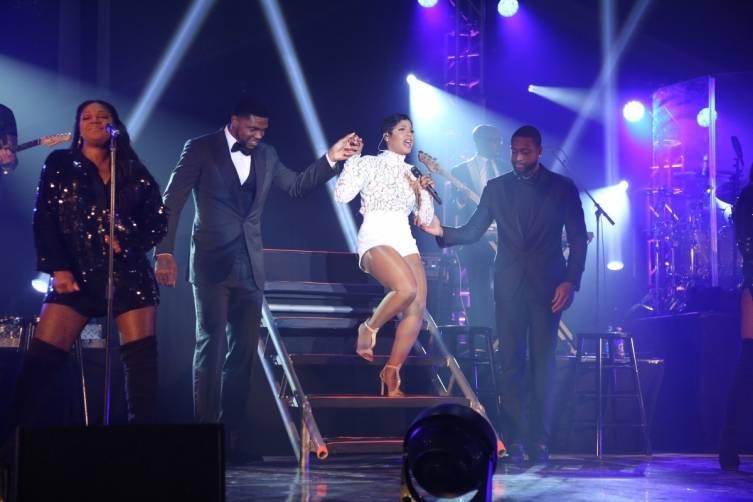 Toni Braxton performs