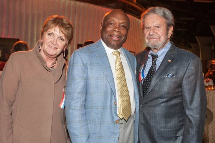 Vilja Fussell, Willie Brown and Tad Taube