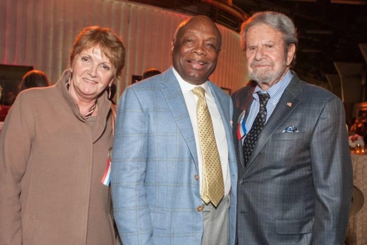 Vilja Fussell, Willie Brown and Tad Taube
