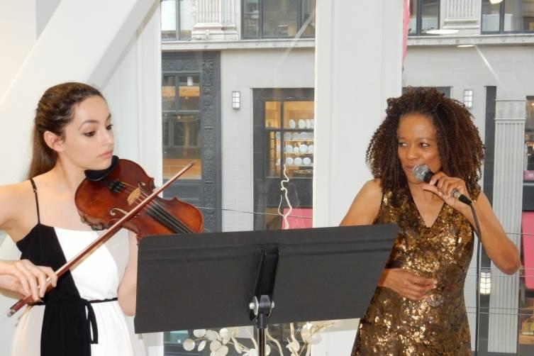 Lea Bourgade and Paula West