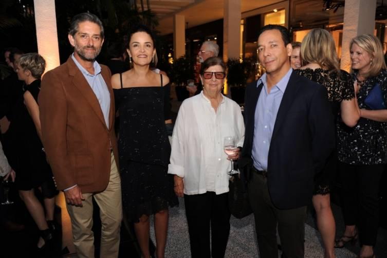 Walid & Susie Wahab, Nan Bush, & Pablo Alfaro