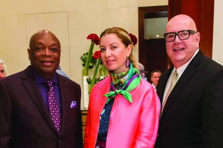 Willie Brown, Sonya Molodetskaya and Robert Atkinson
