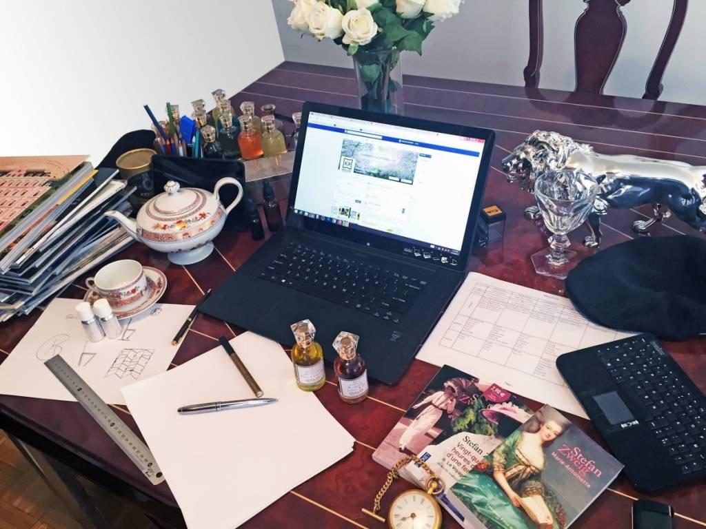 Ben Krigler's desk