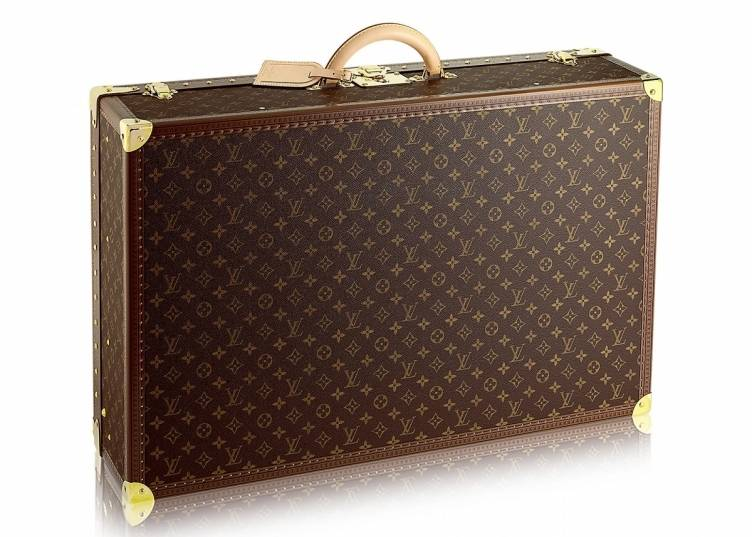 Louis Vuitton Alzer 75 monogram canvas travel case