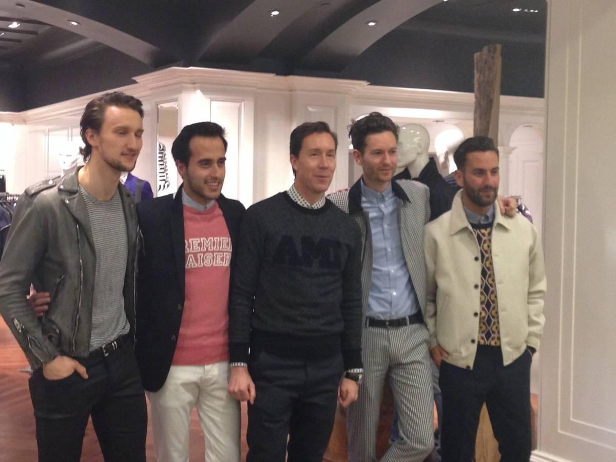 (From left) Marcel Florus, Moti Ankari, Eric Jennings, Hindin Miller, Matthew Zorpas