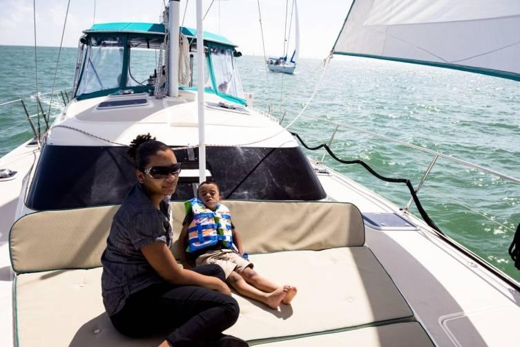 Sailing Heals first Children's Sail