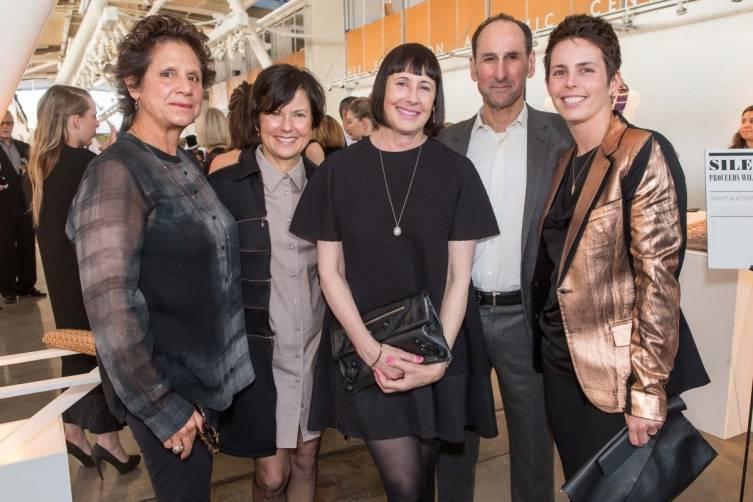 Katherine Wagner, Loretta Gargan, Carla Emil, Rich Silverstein, Jessica Silverman