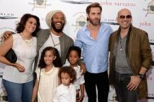 Ziggy Marley and family, Chris Pine and John Varvatos