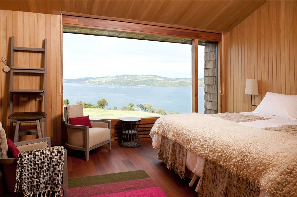 A room at Tierra Chiloé