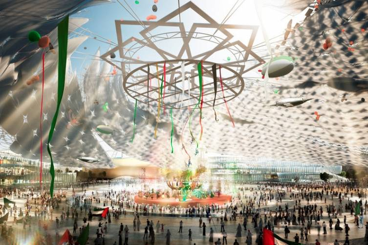 Expo 2020 leaders state that the iconic Al Wasl Plaza, meaning 'connection' in Arabic, will be the literal and figurative heart of Expo 2020 Dubai. This central semi-covered events space will host grand performances, spectacular displays and international pageantry during the day and night Expo programmes.