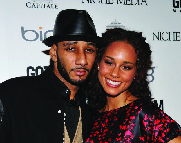 Alicia Keys and Swizz Beats, image via Photo by Bryan Bedder/Getty Images