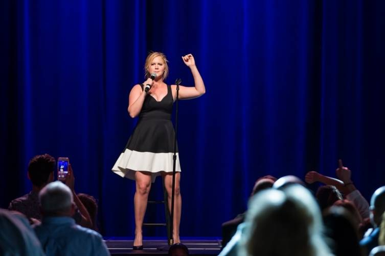Amy Schumer performs at the Cosmopolitan of Las Vegas.