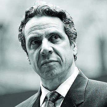 Andrew Cuomo, image via Albany Times Union