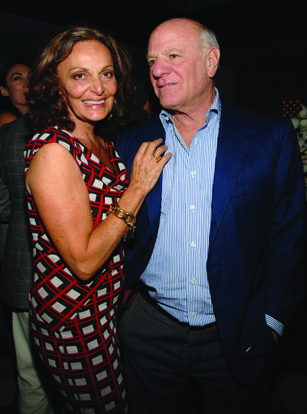 Diane von Fusrtenberg and Barry Diller, image via McCarthy/WireImage.com
