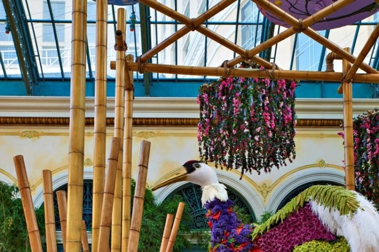Bellagio Conservatory - Crane