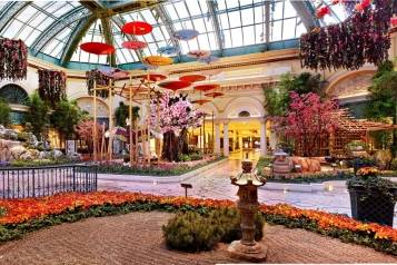 Bellagio Conservatory Panorama