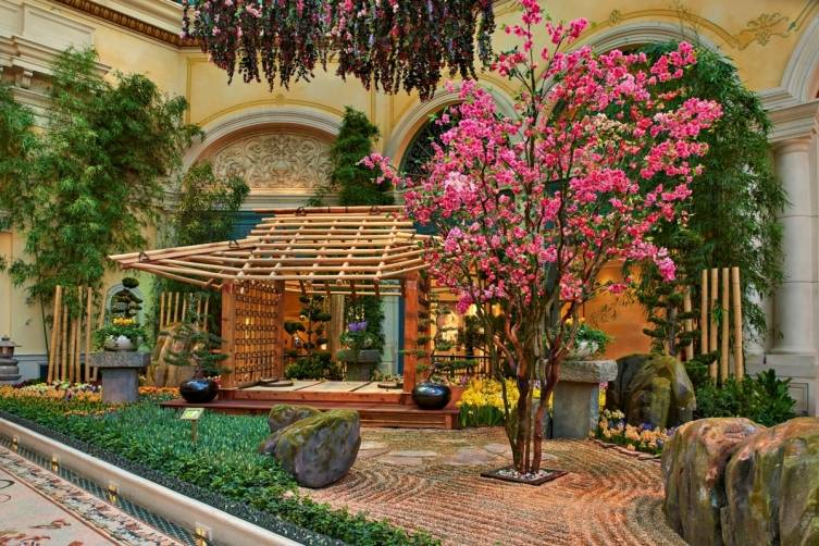 Bellagio Conservatory - Tea House