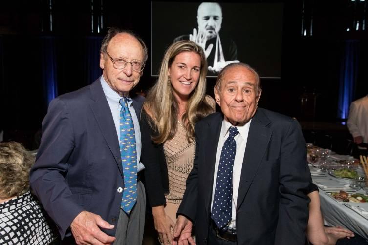 Bernard Osher, Hilary Armstrong, Maurice Kanbar