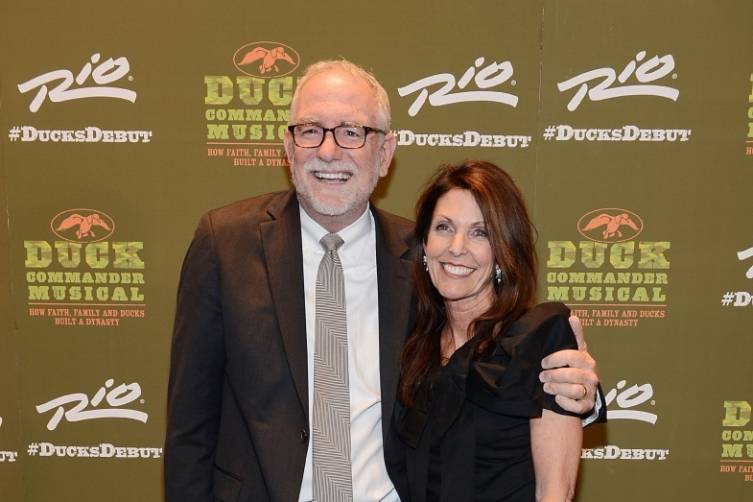 Bob and Maria Goff at World Premiere of DUCK COMMANDER MUSICAL_Credit Denise Truscello