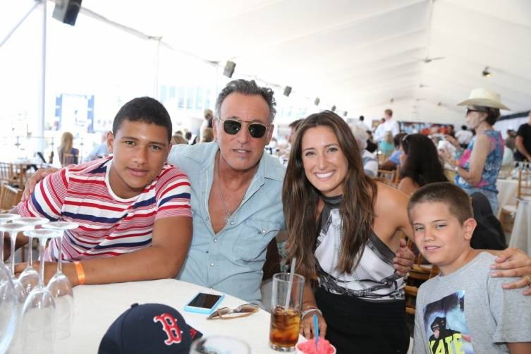 Bruce and Jessica Springsteen