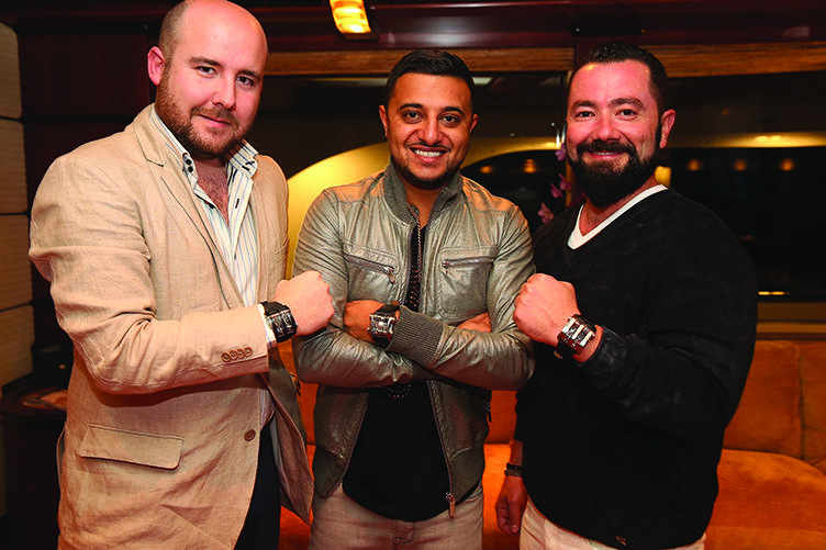 Haute Time Celebrates The Opening Of ECJ Luxe Flagship Store With a 'Haute Collectors' Dinner Party Aboard Megayacht M/Y Usher