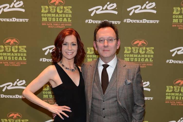 Carrie Preston and Michael Emerson at World Premiere of DUCK COMMANDER MUSICAL 4.15.15_Credit Denise Truscello