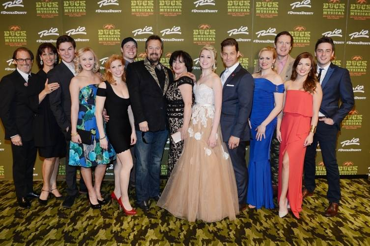 Cast of DUCK COMMANDER MUSICAL at World Premiere 4.15.15_Credit Denise Truscello