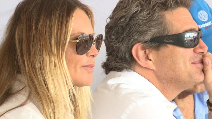 Elle McPherson and Jeffrey Sofer
