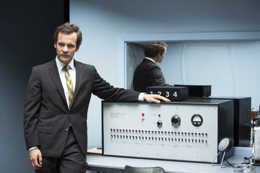 Peter Sarsgaard in a scene from Michael Almereyda,s EXPERIMENTER
