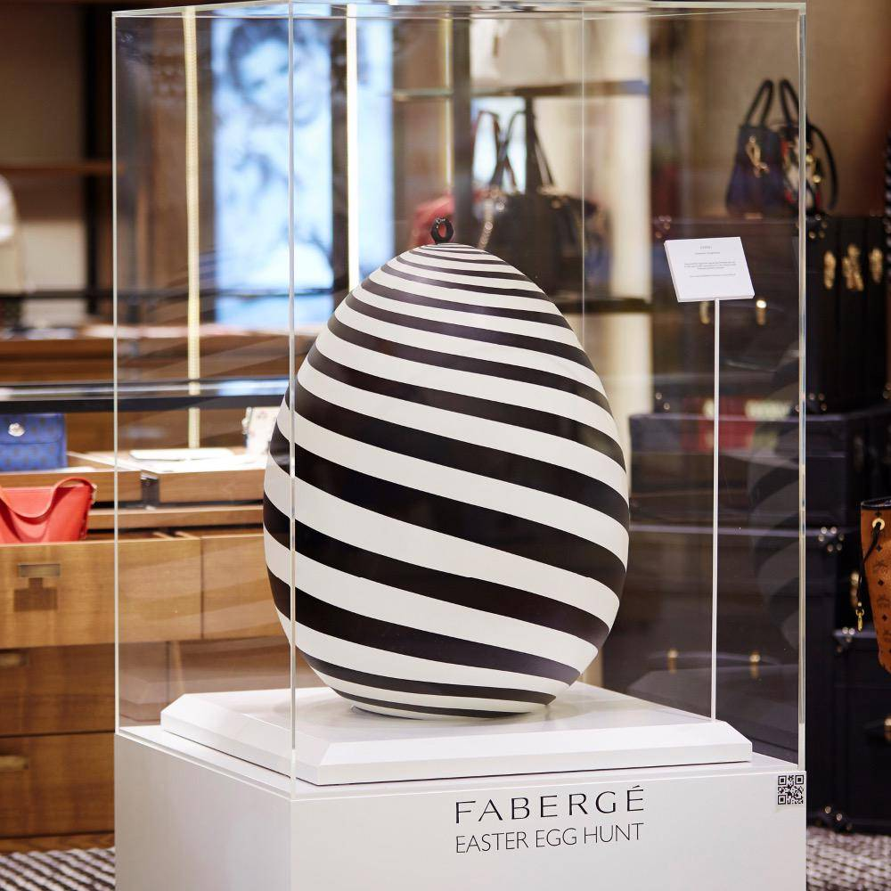 Faberge Easter Egg Hunt at Harrods