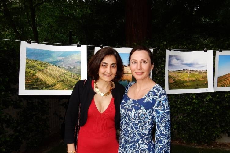 Fati Farmanfarmaian and Clara Shayevich