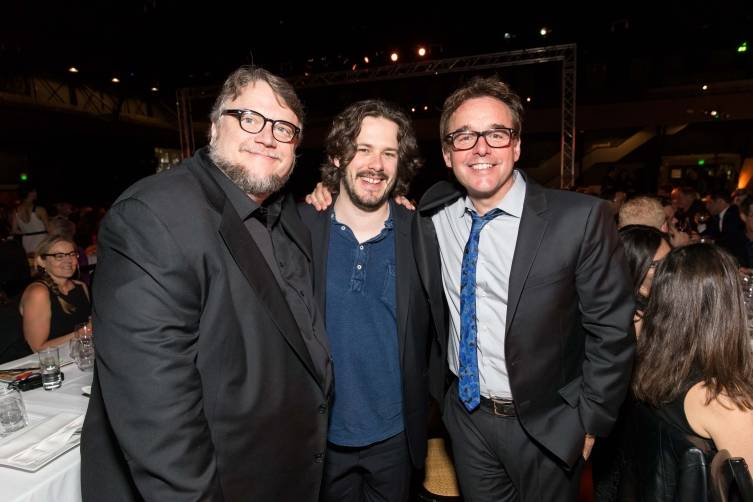 Guillermo del Toro, Edgar Wright, Chris Columbus