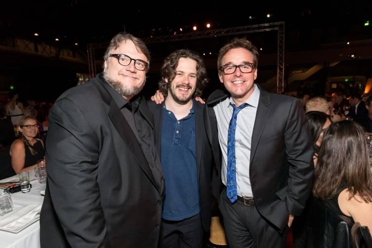 Guillermo del Toro, Edgar Wright, Chris Columbus