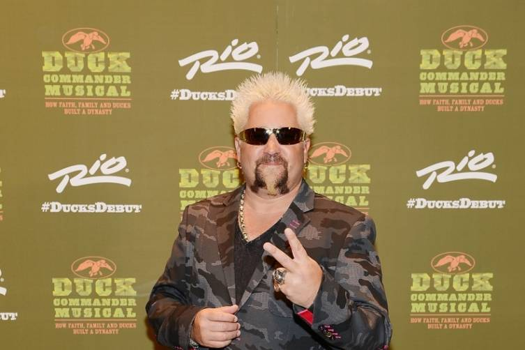 Guy Fieri at World Premiere of DUCK COMMANDER MUSICAL 4.15.15_Credit Denise Truscello