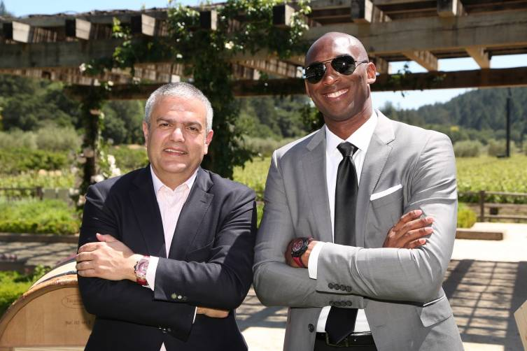 Ricardo Guadalupe and Kobe Bryant