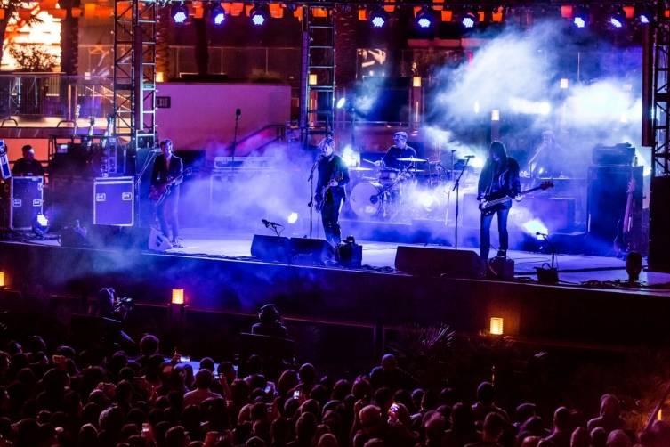 Interpol performs at The Cosmopolitan_April 15_Kabik 4