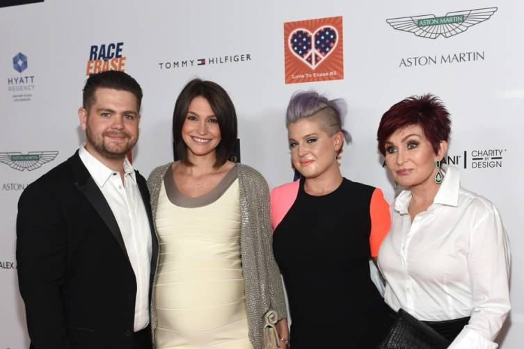 Jack, Lisa, Kelly and Sharon Osbourne